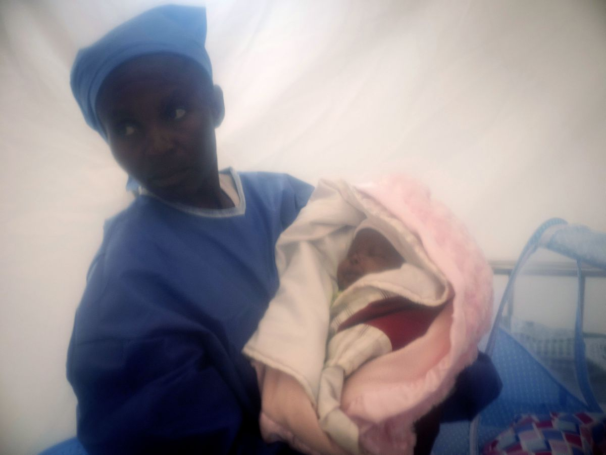 'Young miracle:' Baby recovers from Ebola in Congo outbreak