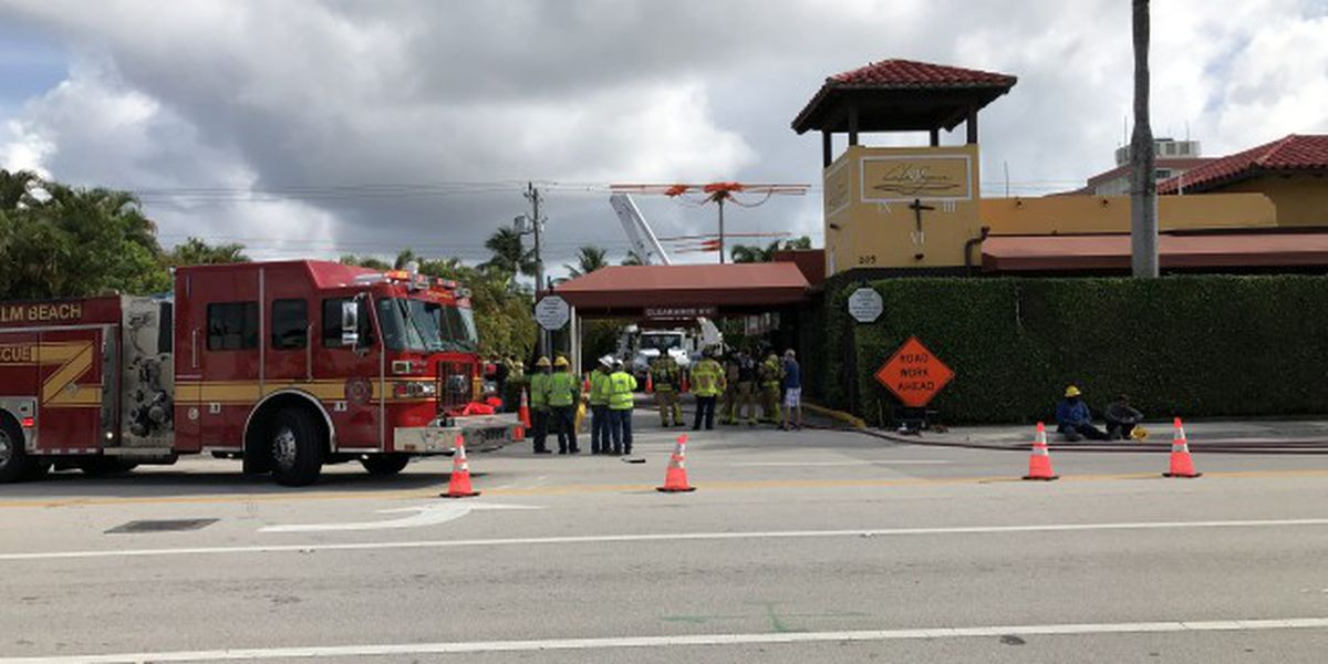Residents evacuated following gas leak in West Palm Beach