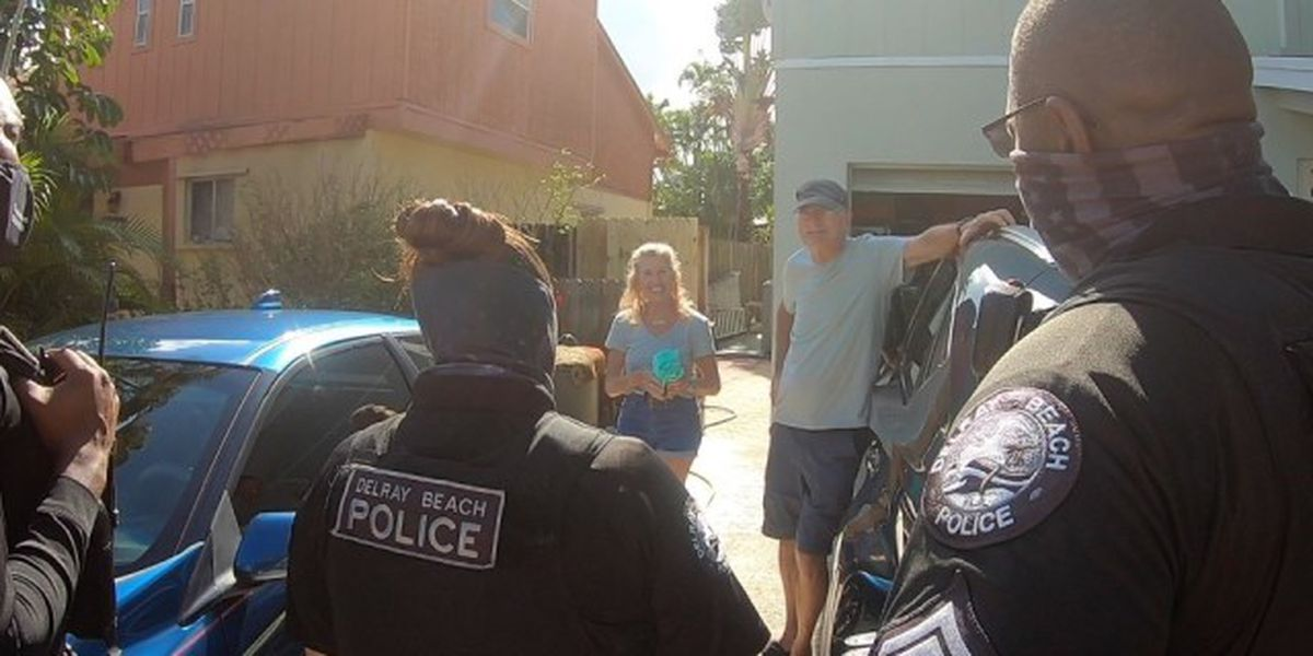 Delray Beach police hit the streets to meet the community