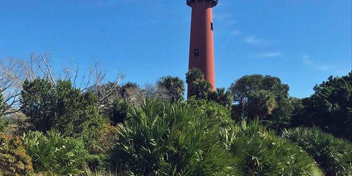 Restoration work underway on Jupiter Lighthouse