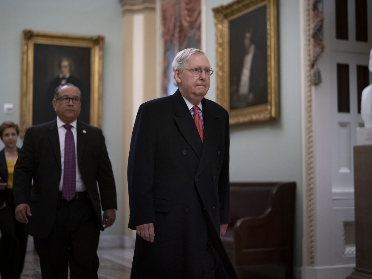 GOP doesn't have votes to block witnesses, McConnell says