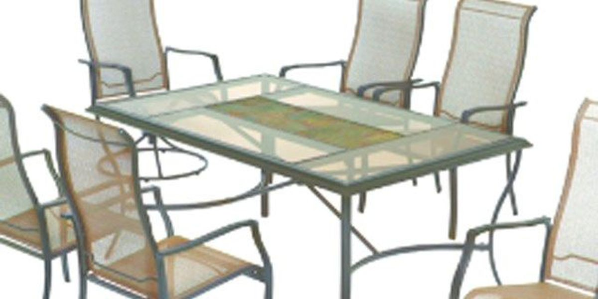 Patio chairs sold at Home Depot recalled