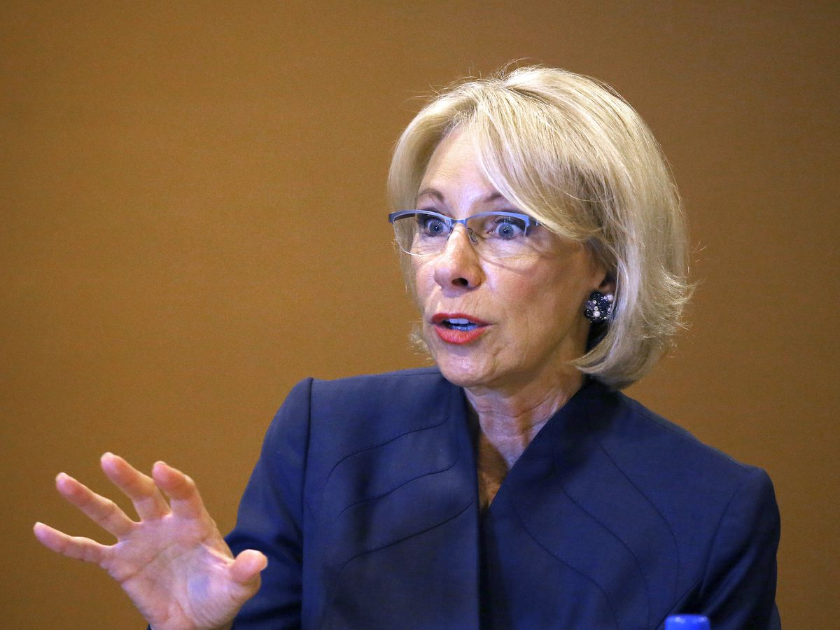 DeVos: Defrauded students may only get partial loan relief