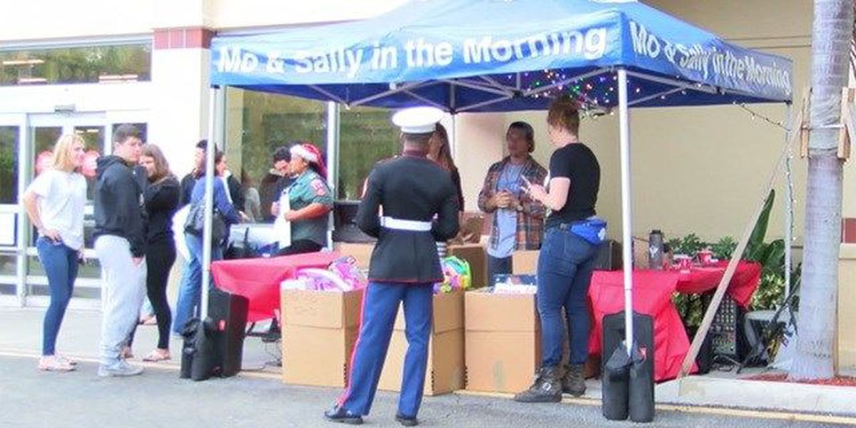 Annual toy drive held to collect Christmas gifts