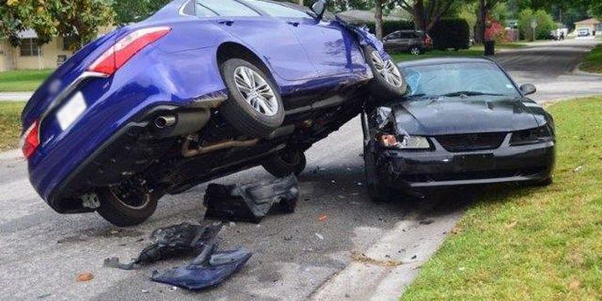 3 teens charged after stolen car nearly flips in St. Petersburg
