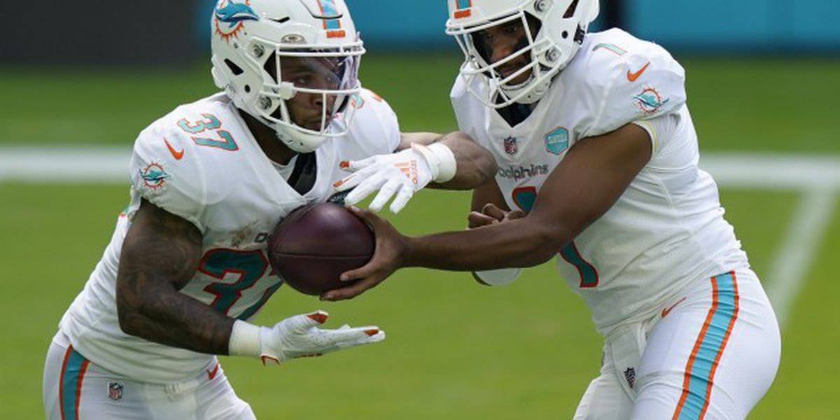 Dolphins place leading rusher on injured reserve