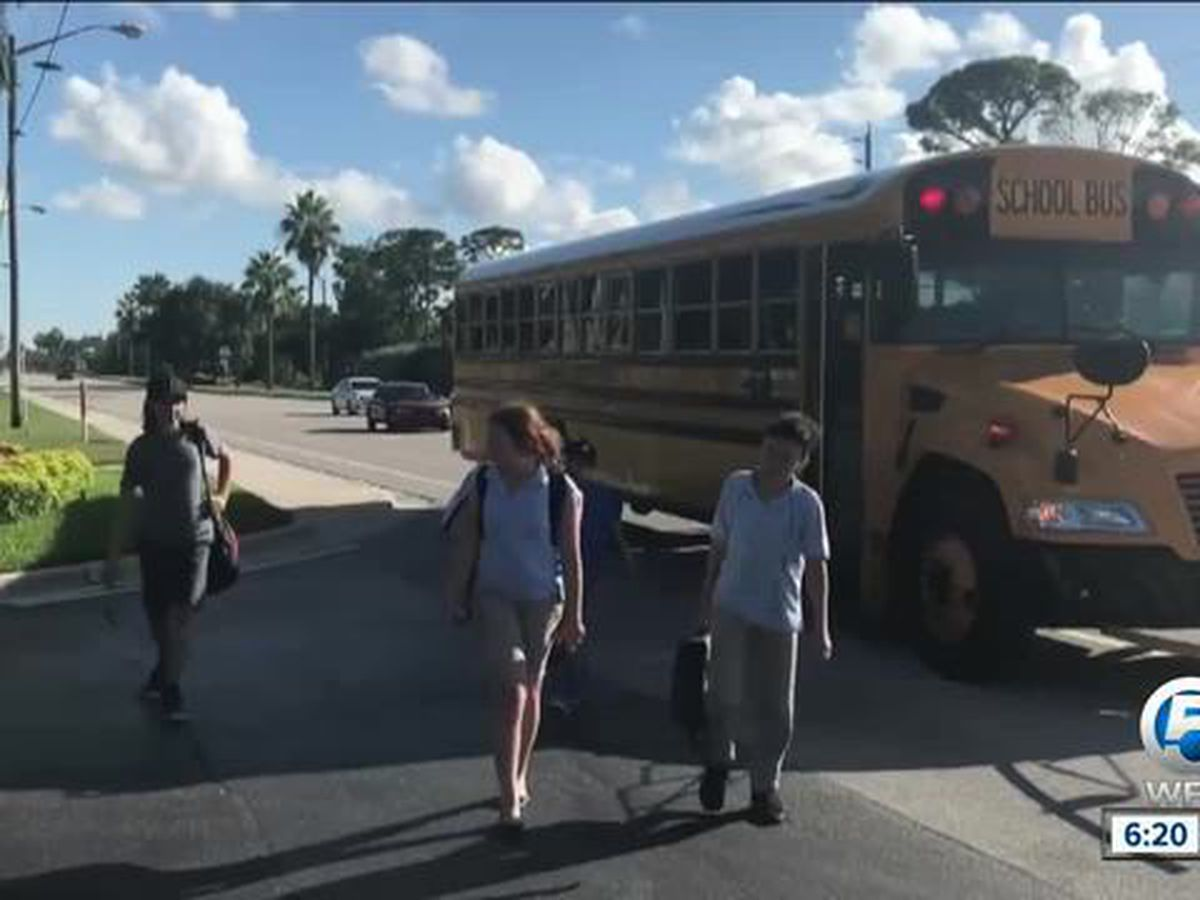 Delray parents upset over late school bus