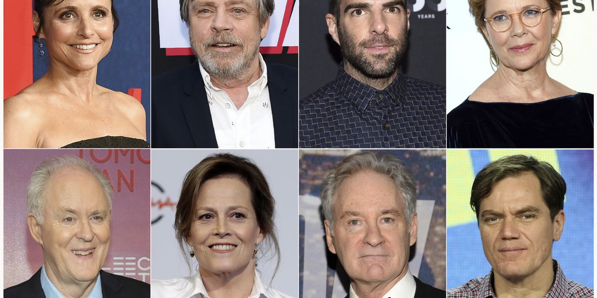 Lithgow, Bening and more stars perform Mueller report