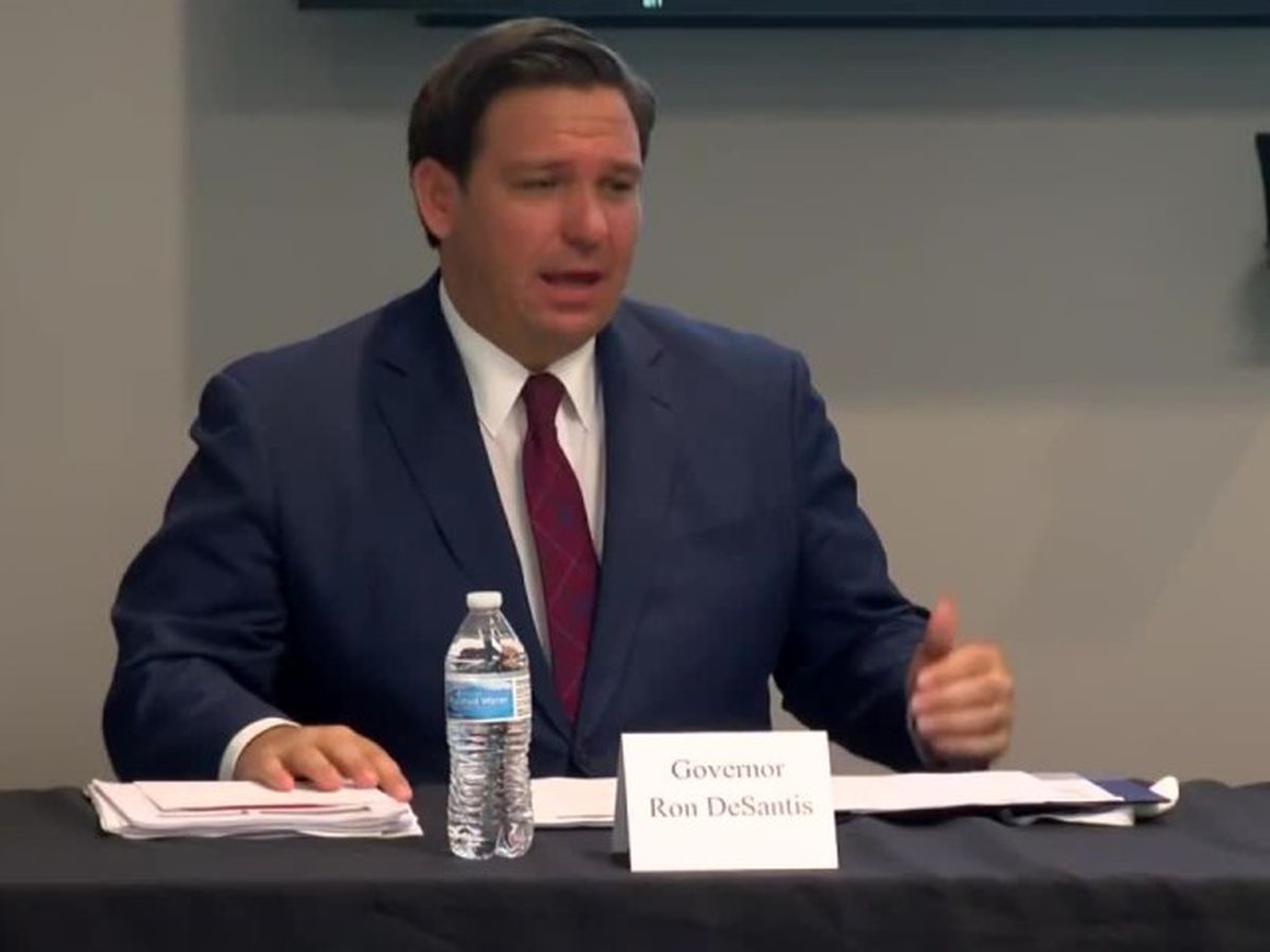 LIVE: Gov. DeSantis gives coronavirus update in Tampa