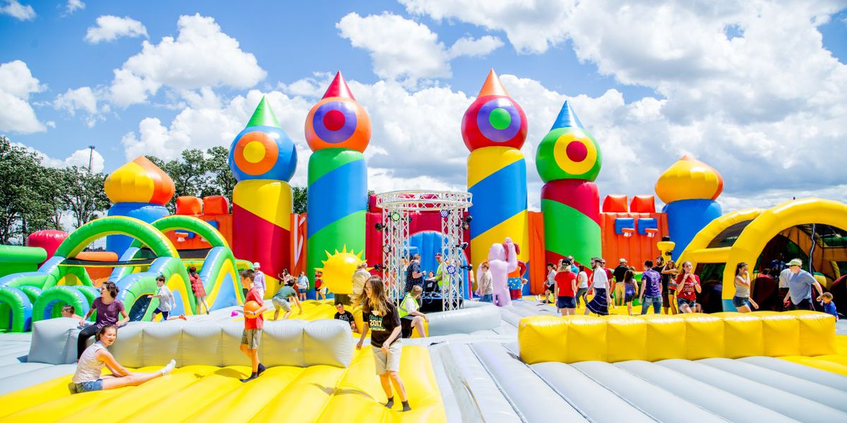 The world's biggest bounce house theme park is coming to Boca Raton