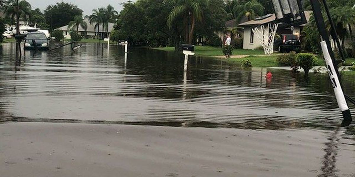 Port St. Lucie flooding traps residents in homes