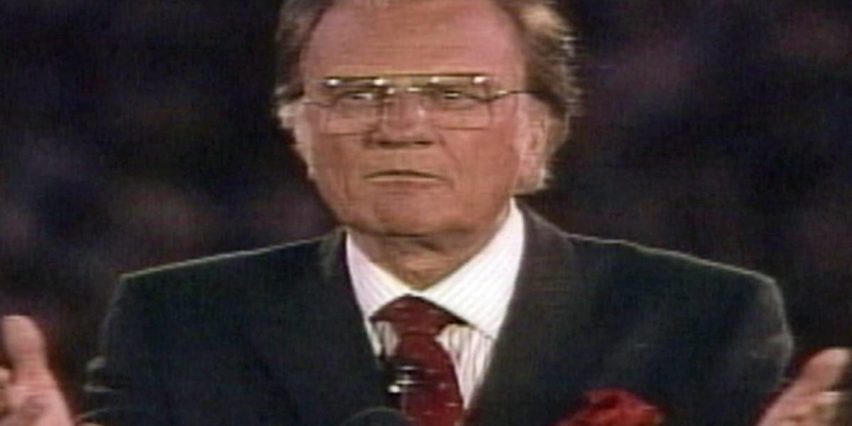 Funeral held for Rev. Billy Graham