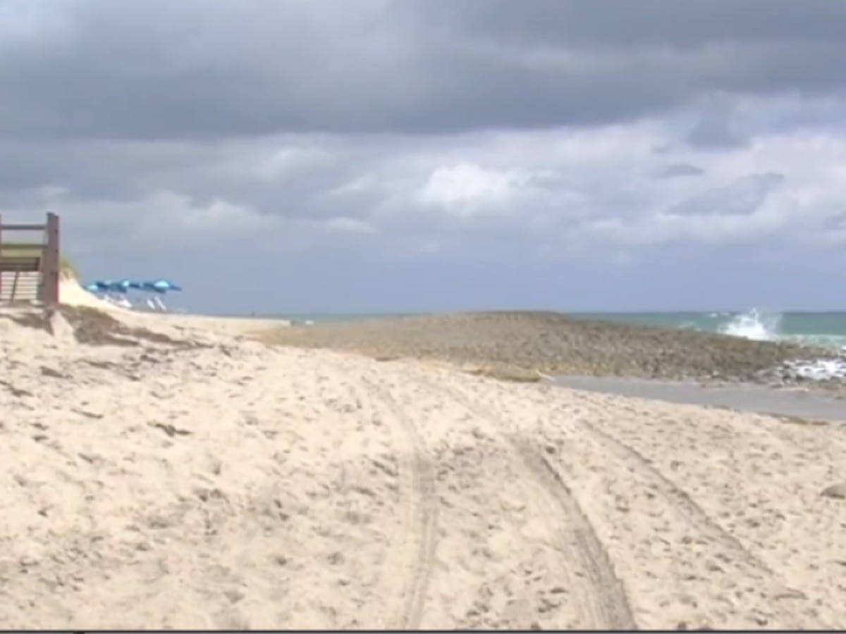 Beach erosion happening up and down coastline