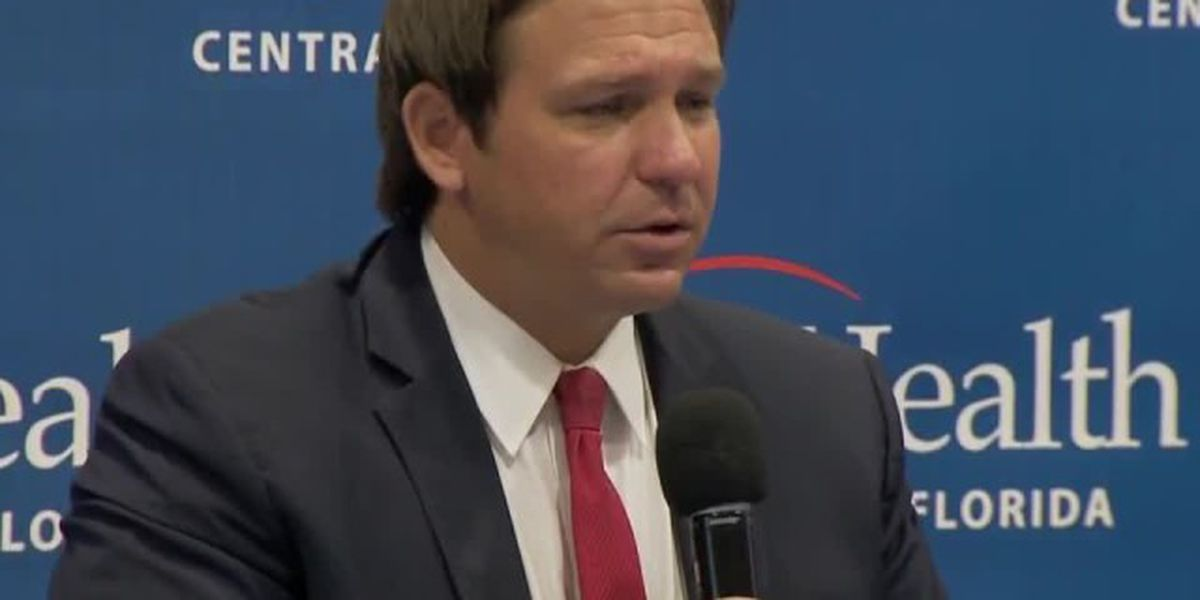 Gov. DeSantis says Floridians don't need to be 'fearful' of coronavirus spike