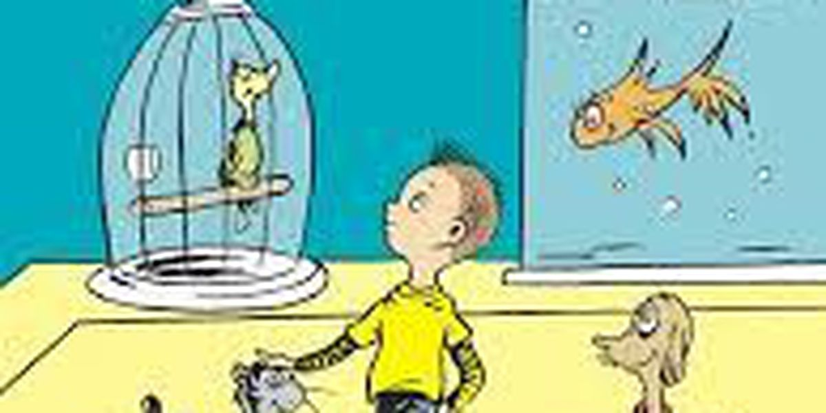 Get the first look inside the new Dr. Seuss book, 'What Pet Should I Get?'