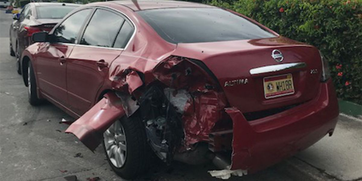 VIDEO: Hit and run smashes cars in Lake Worth Beach