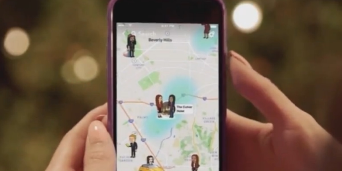 Experts warn Snapchat users about 'Snap Maps'