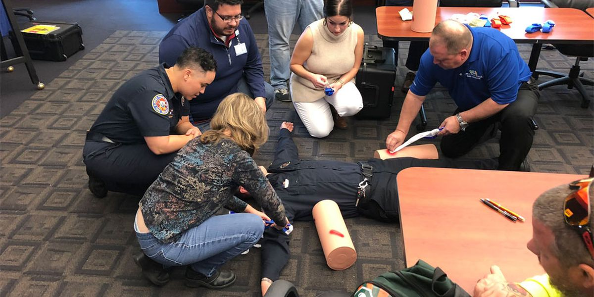 West Palm city employees learning how to 'Stop the Bleed'
