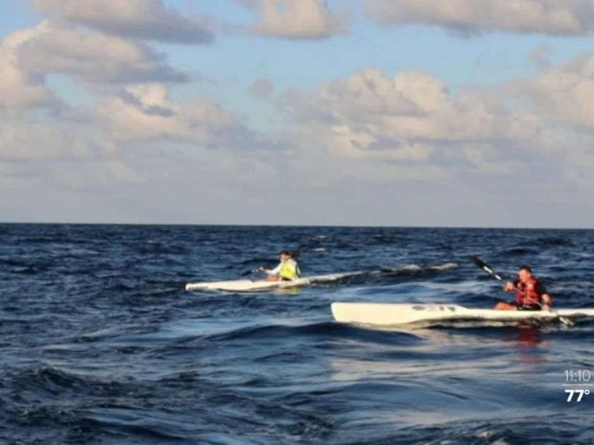 Construction company paddling to the Bahamas to raise funds to feed the homeless
