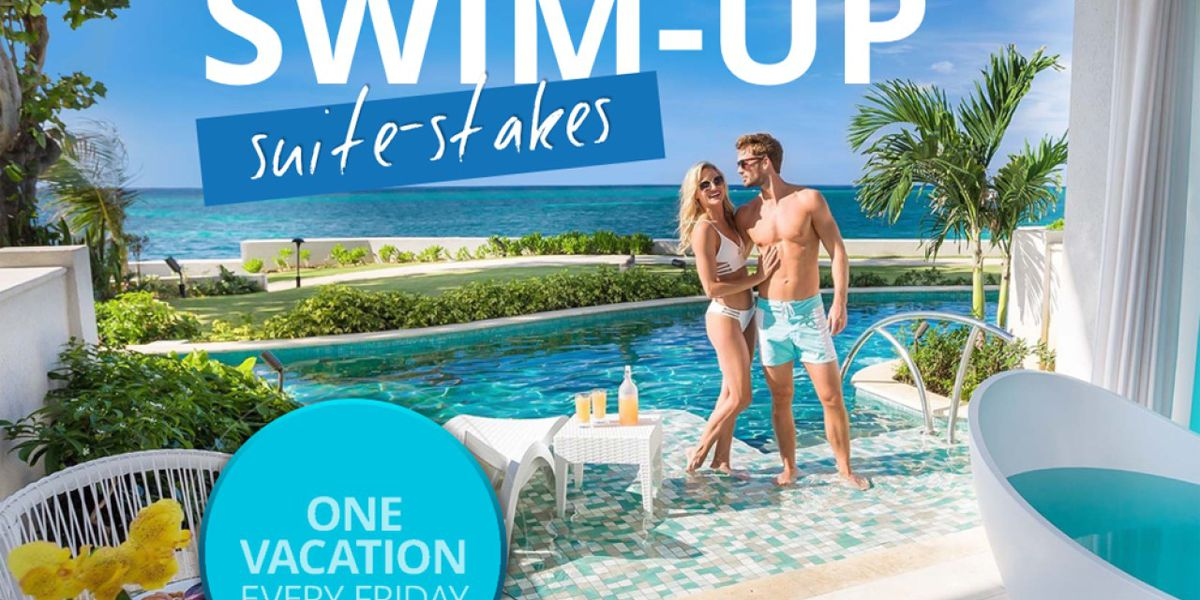 Sandals Resorts giving away free trip every Friday this summer
