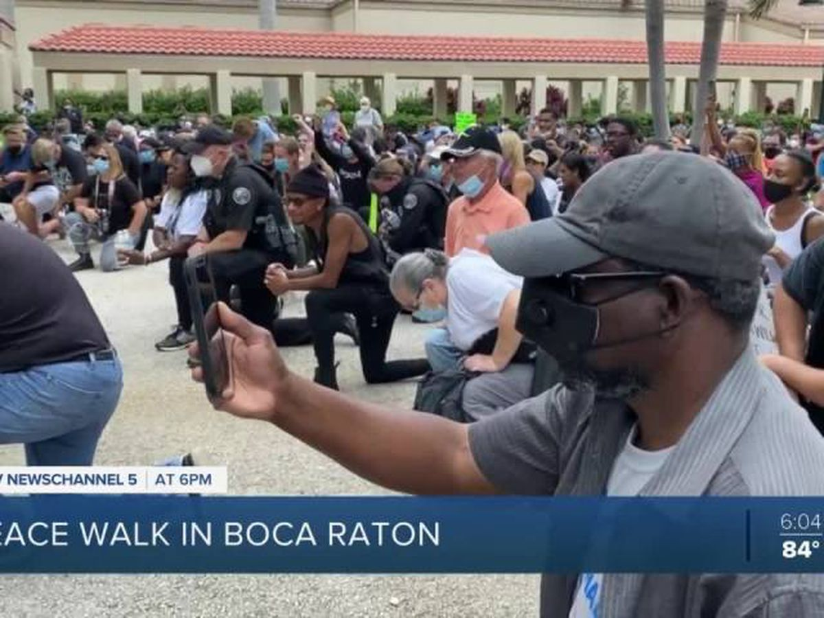 'Peace walk' held in Boca Raton on Saturday
