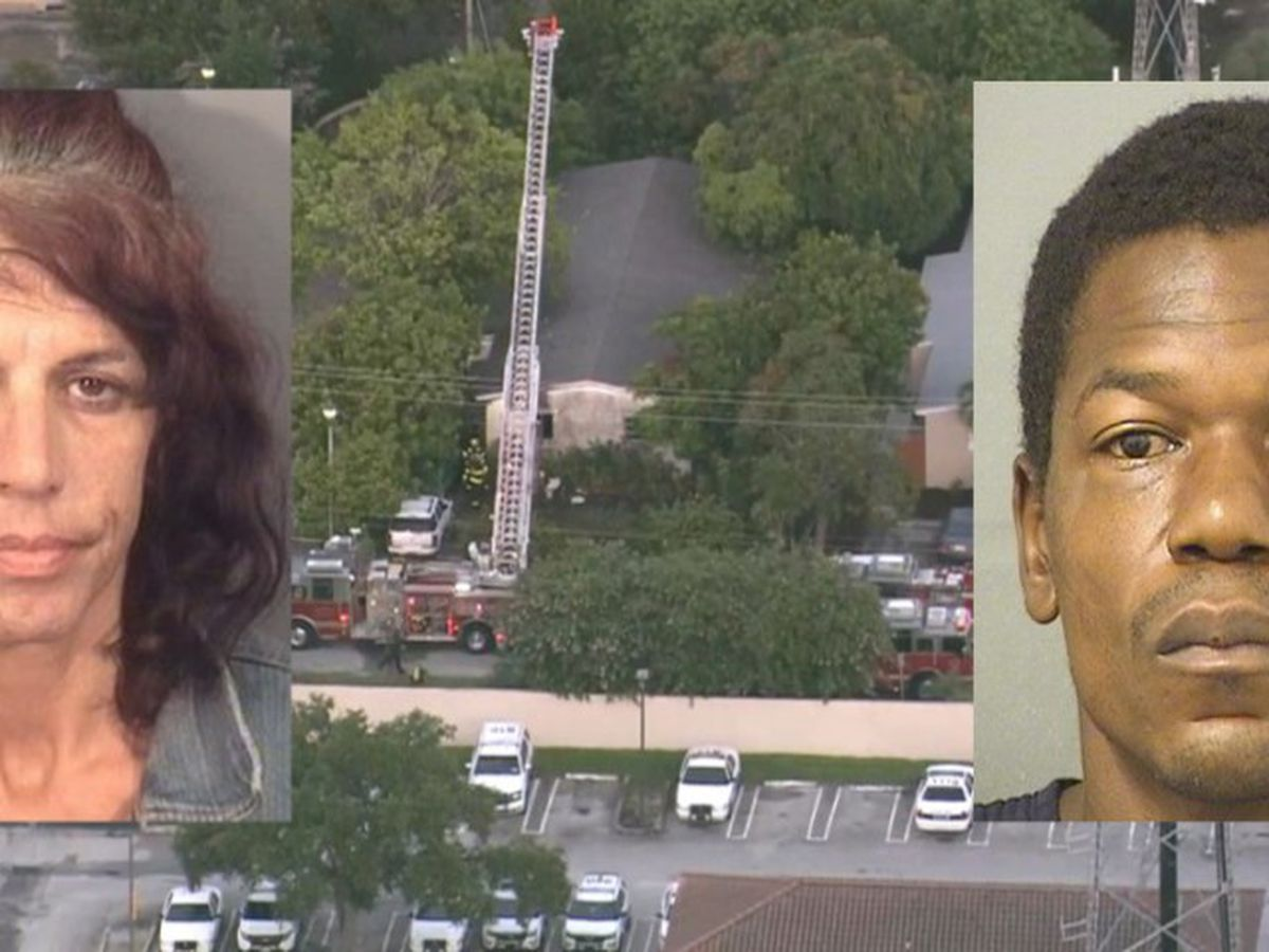 Police: Man beat woman to death, left body in burning home