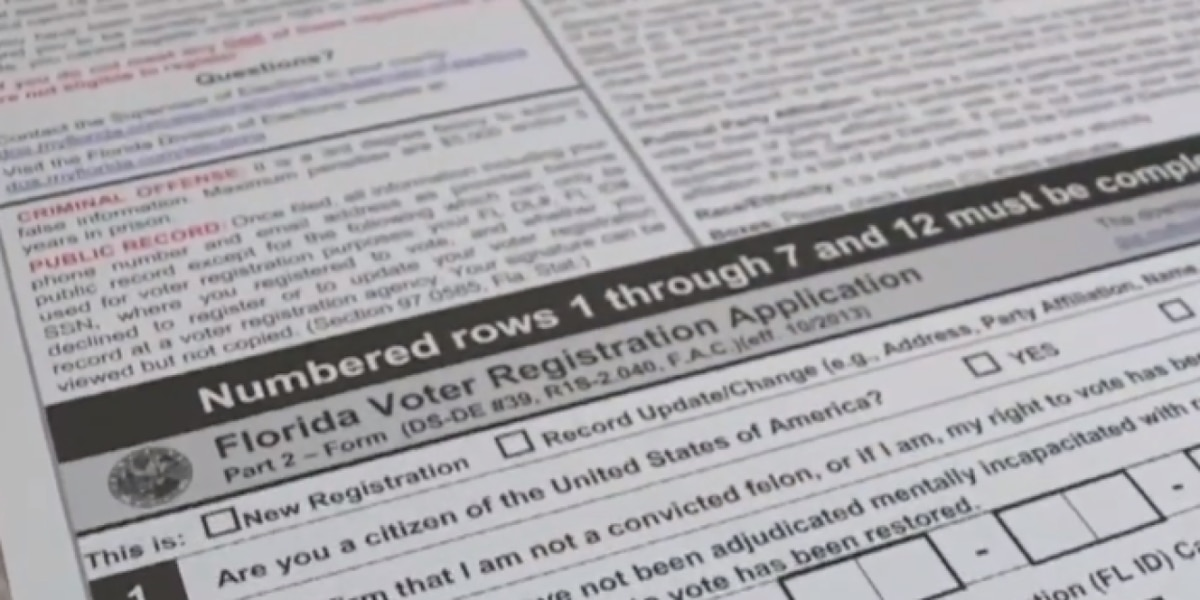 Voting rights restored for some felons in Florida