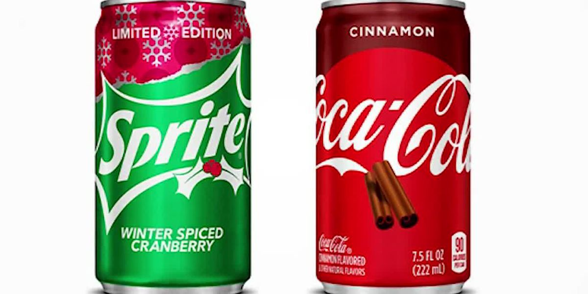 New holiday flavors are available from Coke