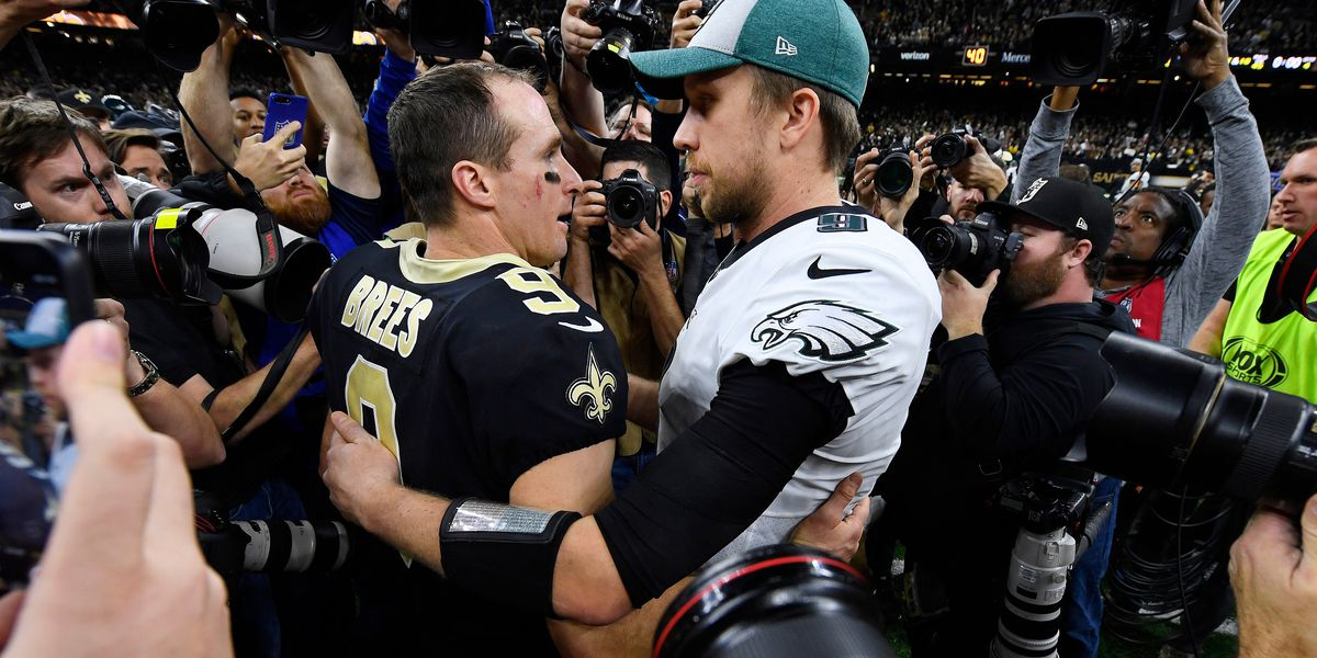 Saints rally past Eagles 20-14, will host NFC title game