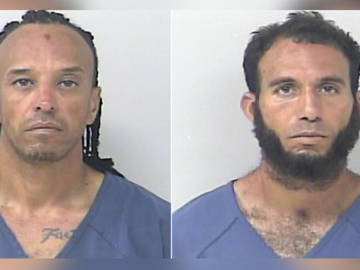 2 Miami-Dade County men arrested after multiple trucks burglarized in Port St. Lucie
