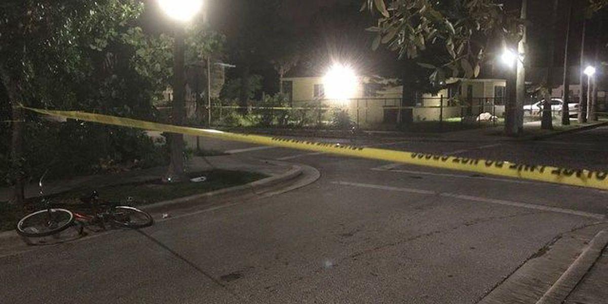 Pedestrian shot overnight in West Palm Beach