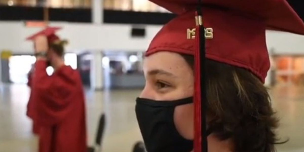Palm Beach County students excited, thankful for in-person graduations