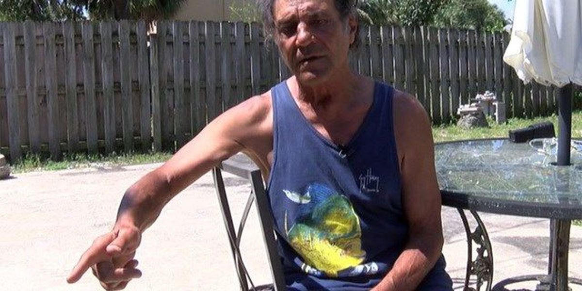 Man rescued from Lake Worth house fire