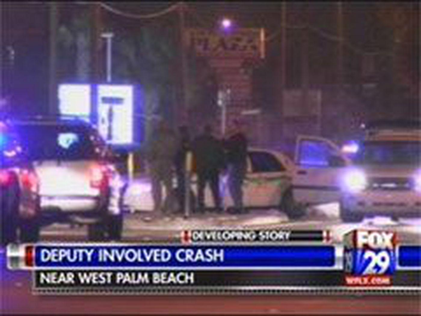 Deputy Involved in Crash