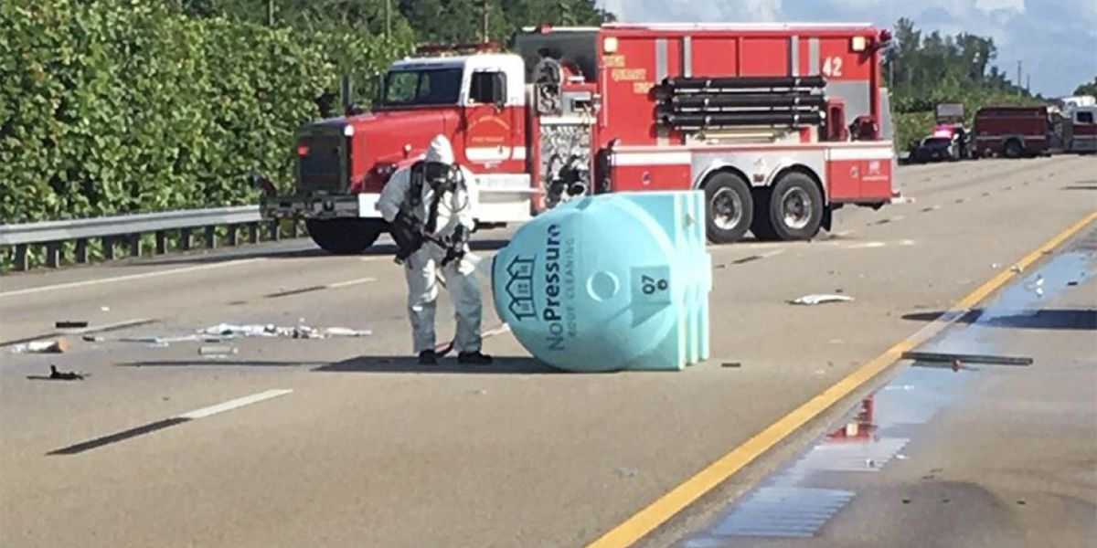 All SB lanes of Turnpike back open in suburban Boca Raton after HAZMAT spill