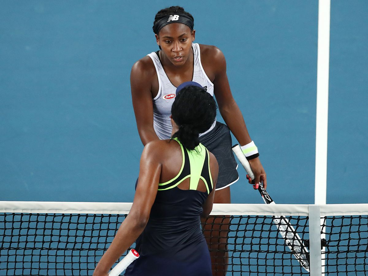 Coco Gauff defeats Venus Williams at Australian Open