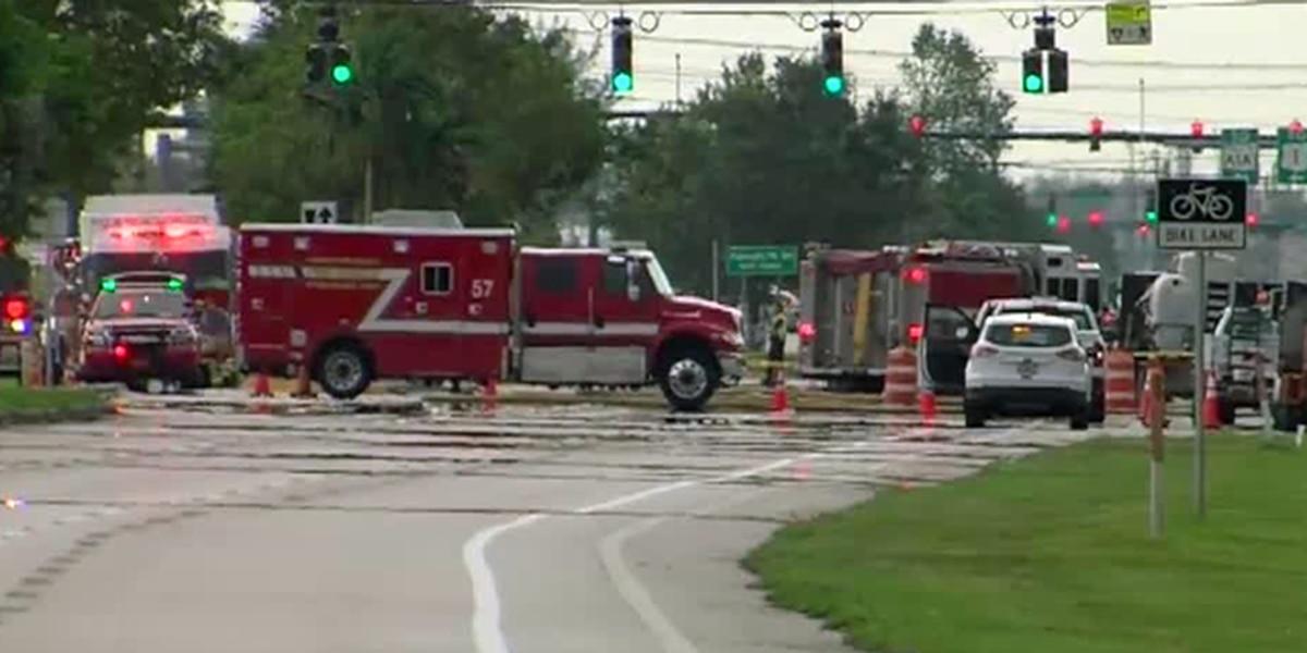 Gas leak capped on 441 in suburban Boca