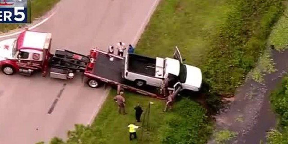 Truck crashes into St. Lucie Co. canal; 1 dead