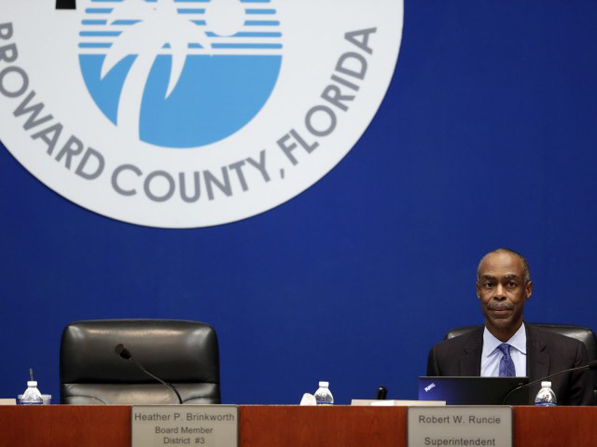 Broward County superintendent arrested on perjury charge