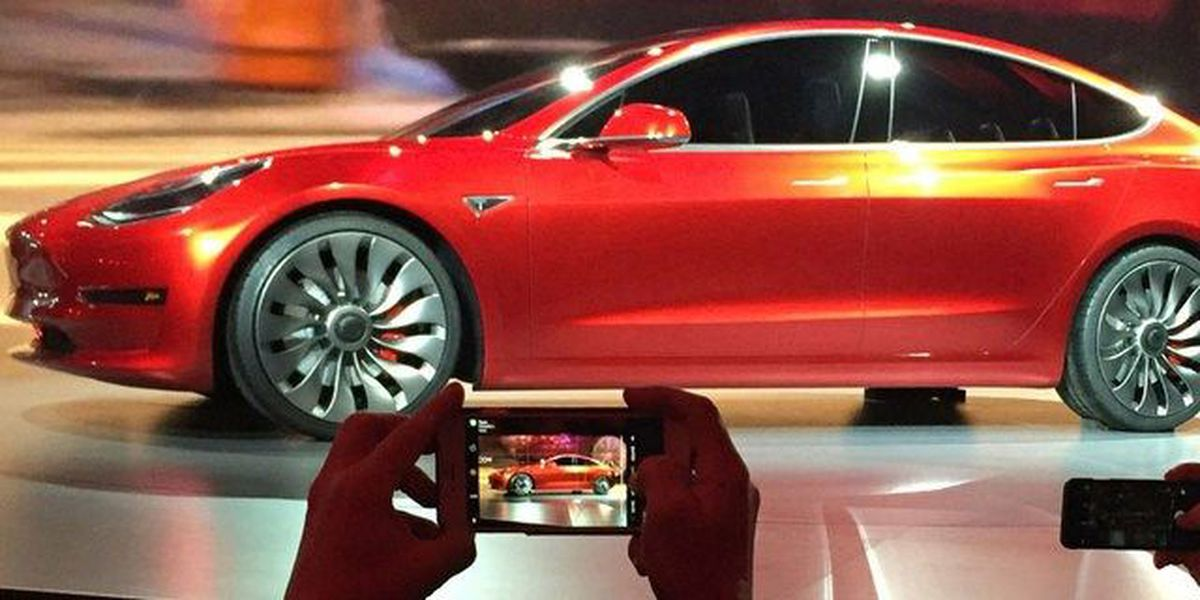 Tesla provides first look at cheaper Model 3