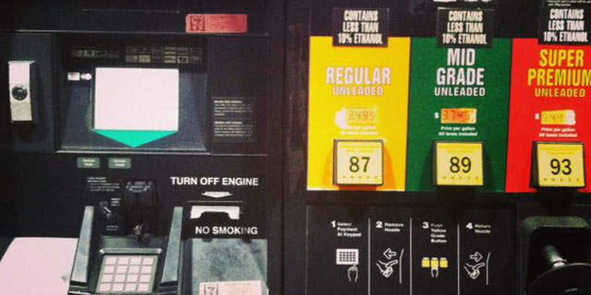 Holiday travelers say Florida's gas prices high