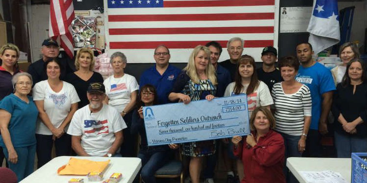 Bealls delivers special check to Forgotten Soldiers Outreach