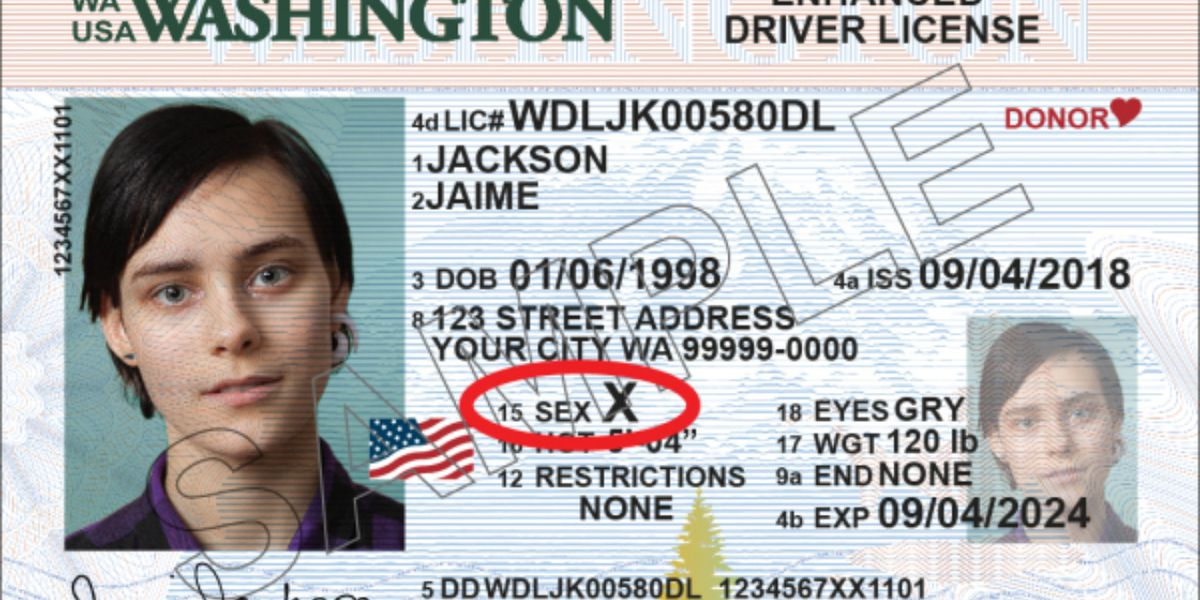 Washington is the latest to allow people to change their gender designation to 'X' on driver licenses