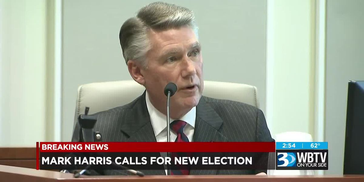 Mark Harris calls for new election