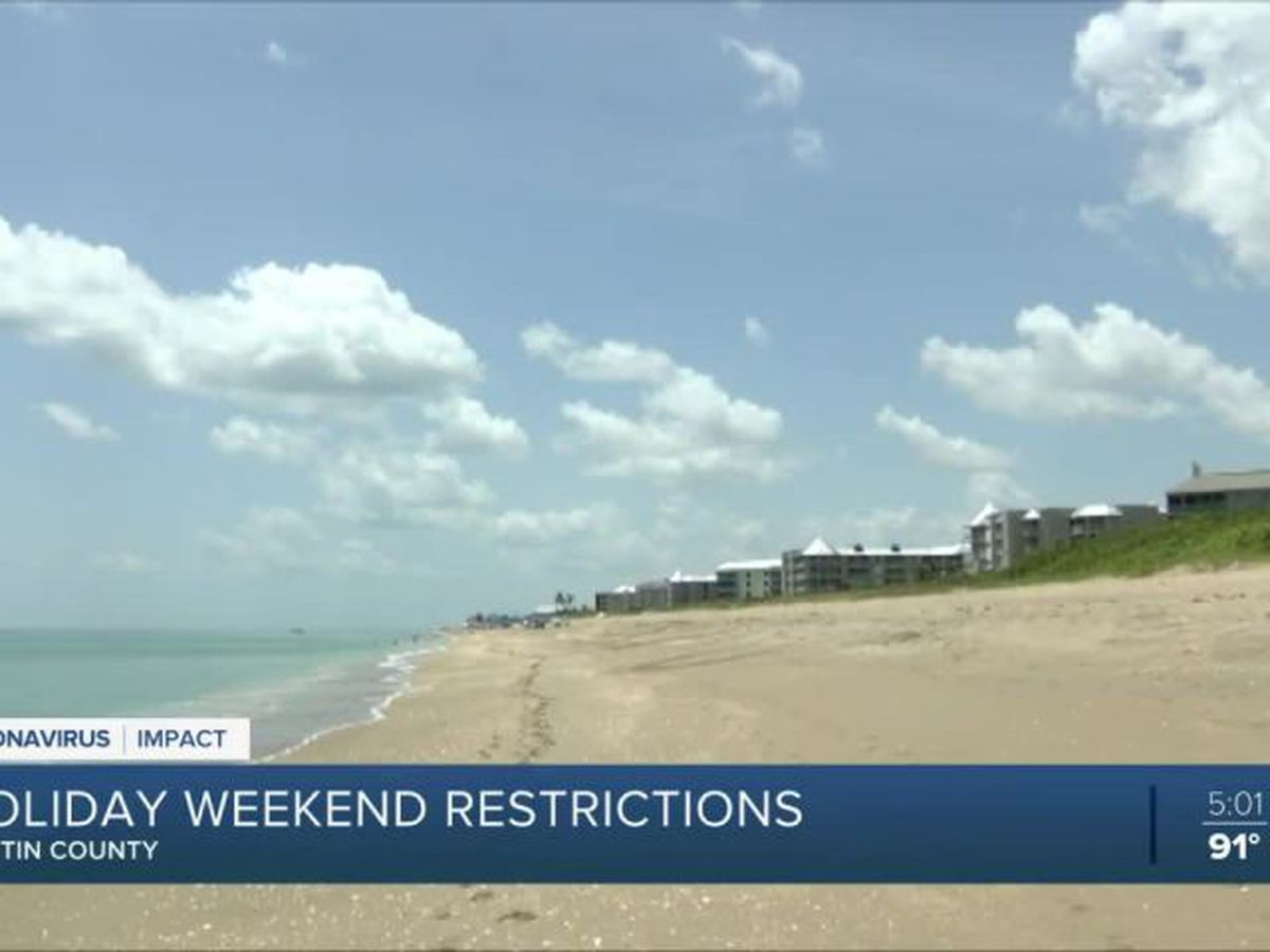 Local beaches closed for Fourth of July weekend