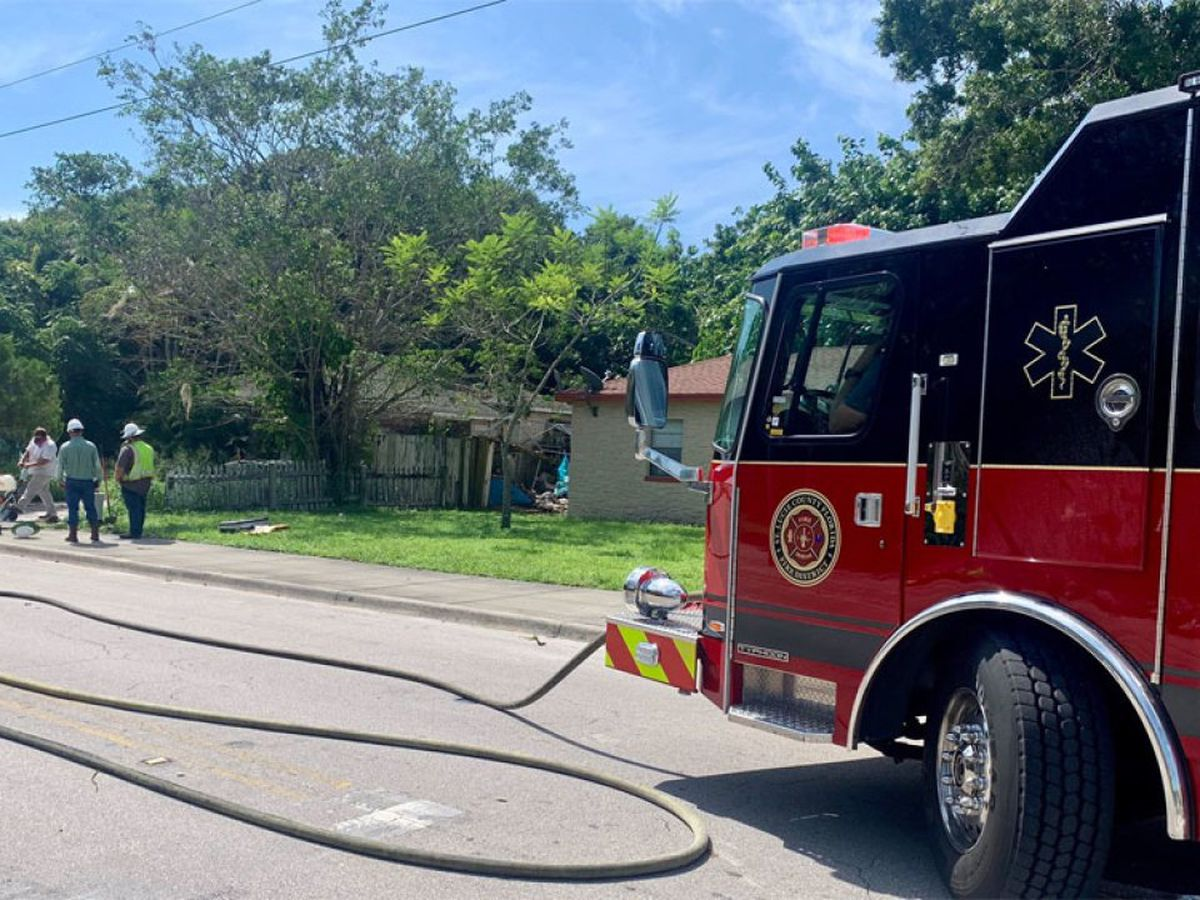 Homes evacuated after Fort Pierce gas leak