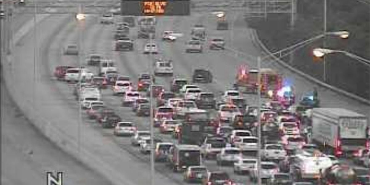 Multiple cars involved in crash on I-95 in PBC