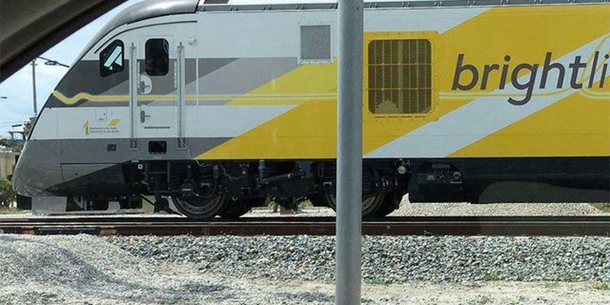 Pedestrian struck by Brightline train dies