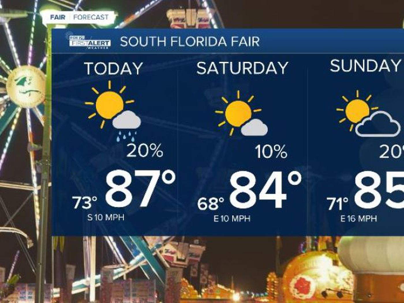 Prepare to break a sweat at South Florida Fair this weekend