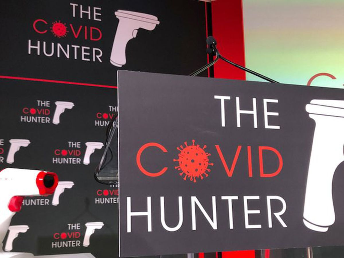 'COVID Hunter' hopes to be key in fight against coronavirus